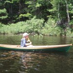 Wee Rob Canoe - Forest Green and Bright