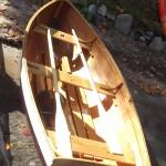 Skeleton Lake Drifter - sail and row boat version