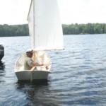 Paul sailing Whisky his Mallard