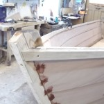 ineer and outer rails installed greatly stiffens the hull