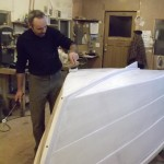 undercoater/sealer provides foundation for finish coats of marine enamel