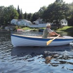 Drifter Wooden Row Boat - available as a sail boat