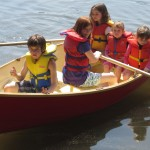 10ft Row Boat - Tom's grandchildren in their new rowboat