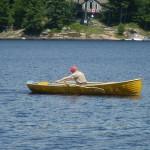 Harry in 13ft Acorn, Lake Muskoka, Ontario