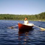 12ft Acorn on Deer Lake, Port Sydney with Karen