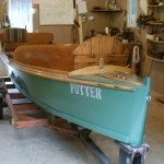 Refinishing of 16ft Dispro - Disappearing Propellor Boat