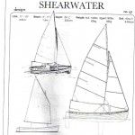 "11ft 10"" Shearwater  - Sailboat or Rowboat"