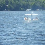 Steamboat on Lake Rosseau, Ontario