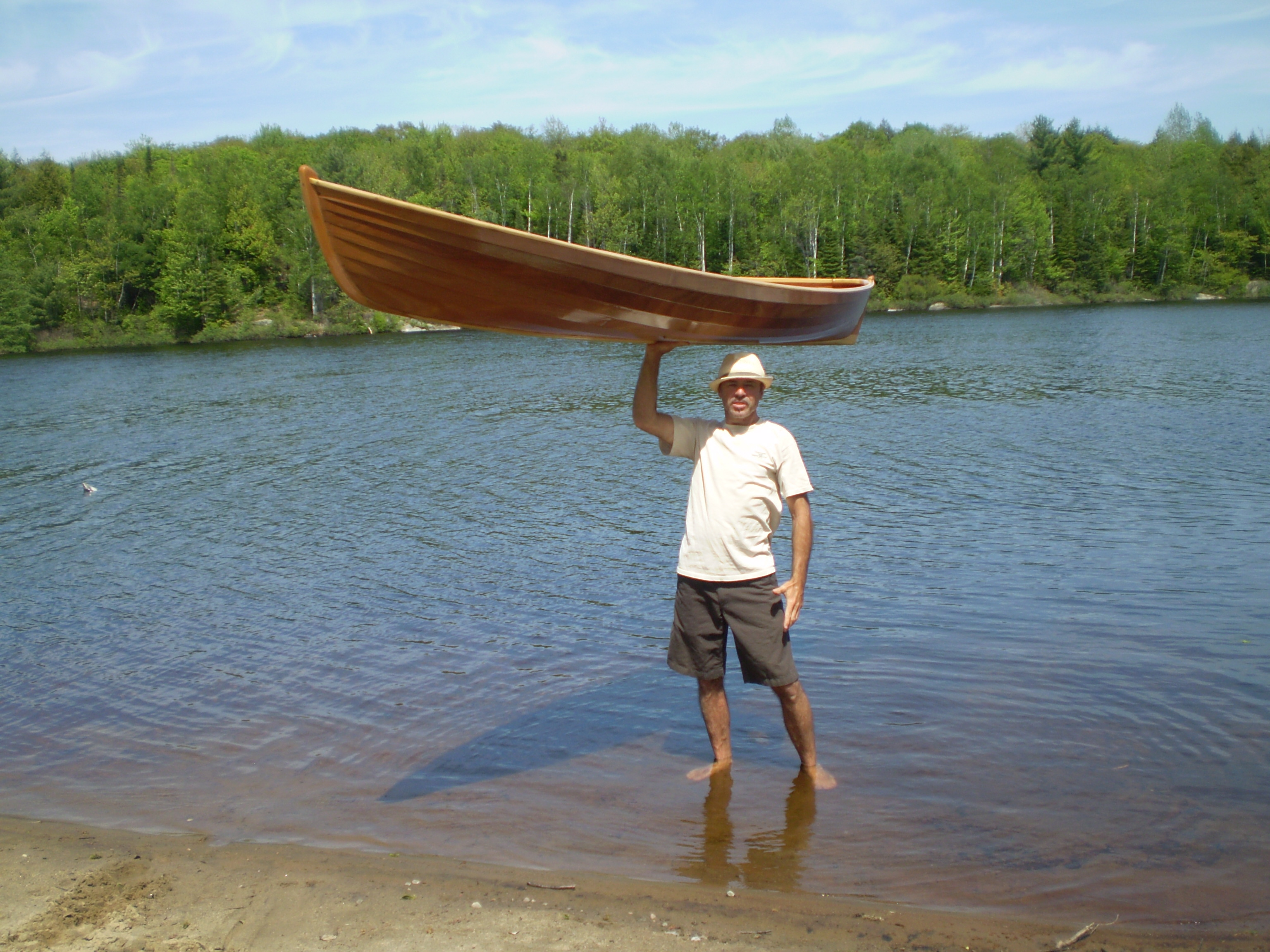 Wood Canoes For Sale http://harwoodwatercraft.com/boats-for-sale/wee ...